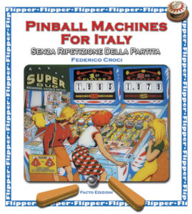 Pinball machines for Italy - front cover