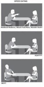 Pinball Speed Dating