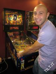 Daniele Acciari al torneo di flipper Enada 2010!