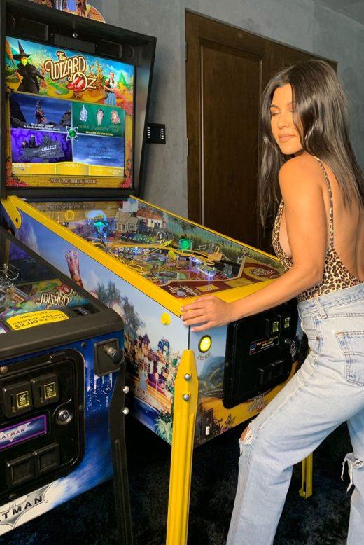 Kourtney Kardashian Pinball